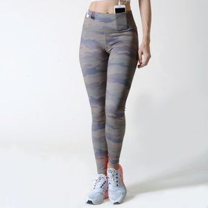 Women's Active High Rise Camouflage Leggings